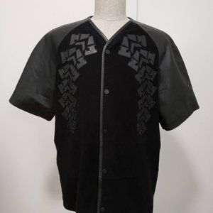Alexander Wang × H&M Leather/Suede Jersey Shirt